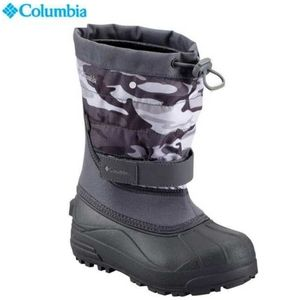 Columbia Waterproof Camo Snow Boots Youth Size 5